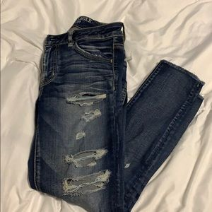 American Eagle size 4R Cropped